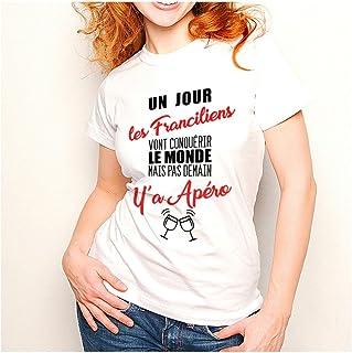 Inconnu - T-Shirt Franciliens.mais Pas Demain y'a Apéro