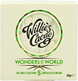Willie's Cacao 5 Wonders of The World 5 x 50g Cacaos in Gift Box (Total 250 g)