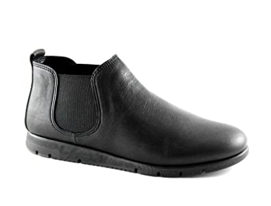 FRAU FX schwarze Damenschuhe Stiefel 53M2 Tronchetti beatles Hautkomfort  36  Amazon.de  Schuhe   Handtaschen 30c8dfdb0f