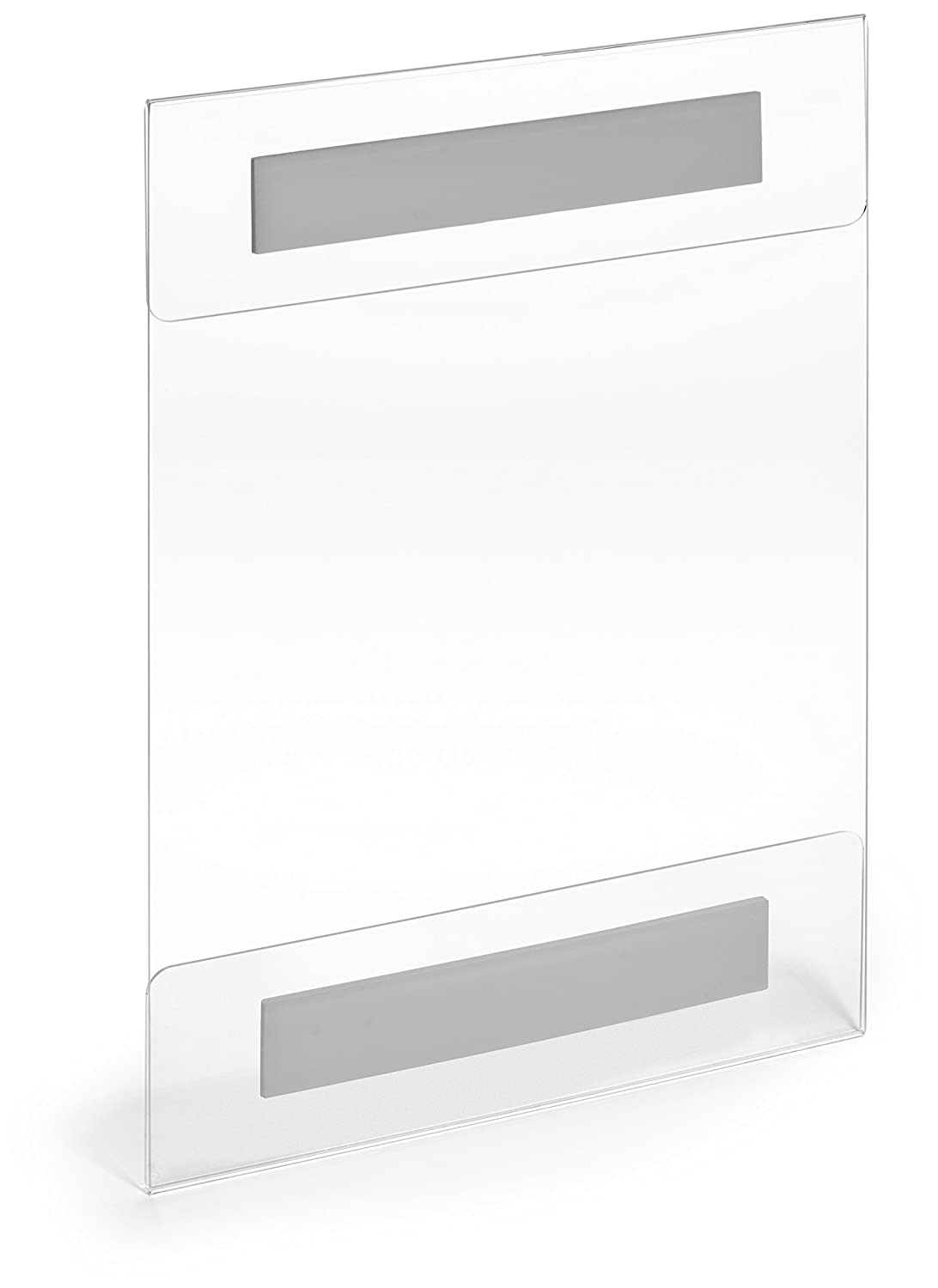 Amazon.com : 8.5 x 11 Acrylic Sign Holder Clear Wall Mount Adhesive ...