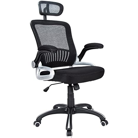 Awesome Amazon Com Hl Office Mid Back Black Mesh Executive Bralicious Painted Fabric Chair Ideas Braliciousco