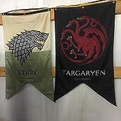 Amazon.com: Game Of Thrones Targaryen Familia Banner: Home ...