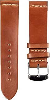 product image for Ashland Leather Men's Two Piece Watch Strap A103 Natural Shell Cordovan