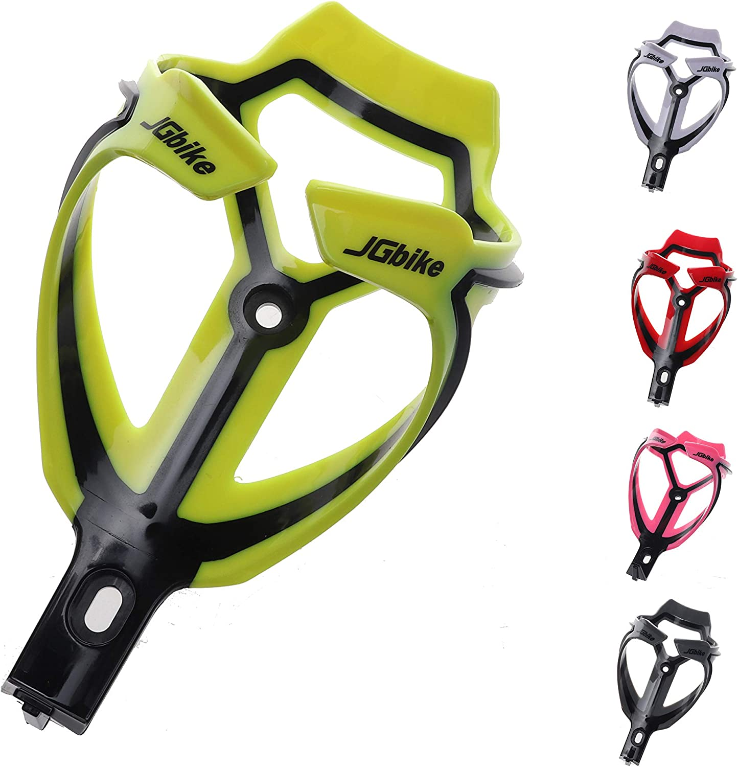 JGbike Water Bottle Cages Road MTB Bike Bicycle Polyamide Glass Fiber Lightweight Water Bottle Holder Cages Brackets