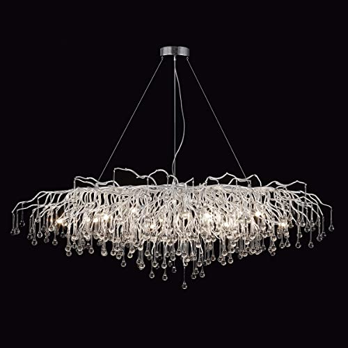 ANTILISHA Rectangle Chandelier