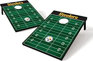 Wild Sports NFL Cornhole Outdoor Game Set, 2' x 3' Foot - Recreational Series