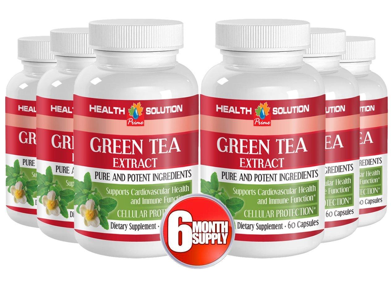 Green tea vitamin c - GREEN TEA EXTRACT - burn belly fat (6 Bottles)