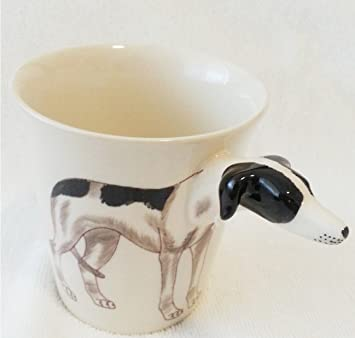 b2see Animales de perros de gatos de tazas de 3d de cerámica Taza de tazas de con de animales de perros de gatos de diseño de imagen: Amazon.es: Hogar