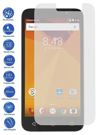 Todotumovil Protector de Pantalla Cristal Templado Vidrio 9H para Vodafone Smart Turbo 7