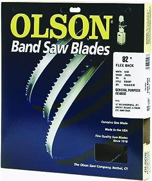 "Morse 82/"" x 1//4/"" x 6 TPI Band Saw Blade M.K"