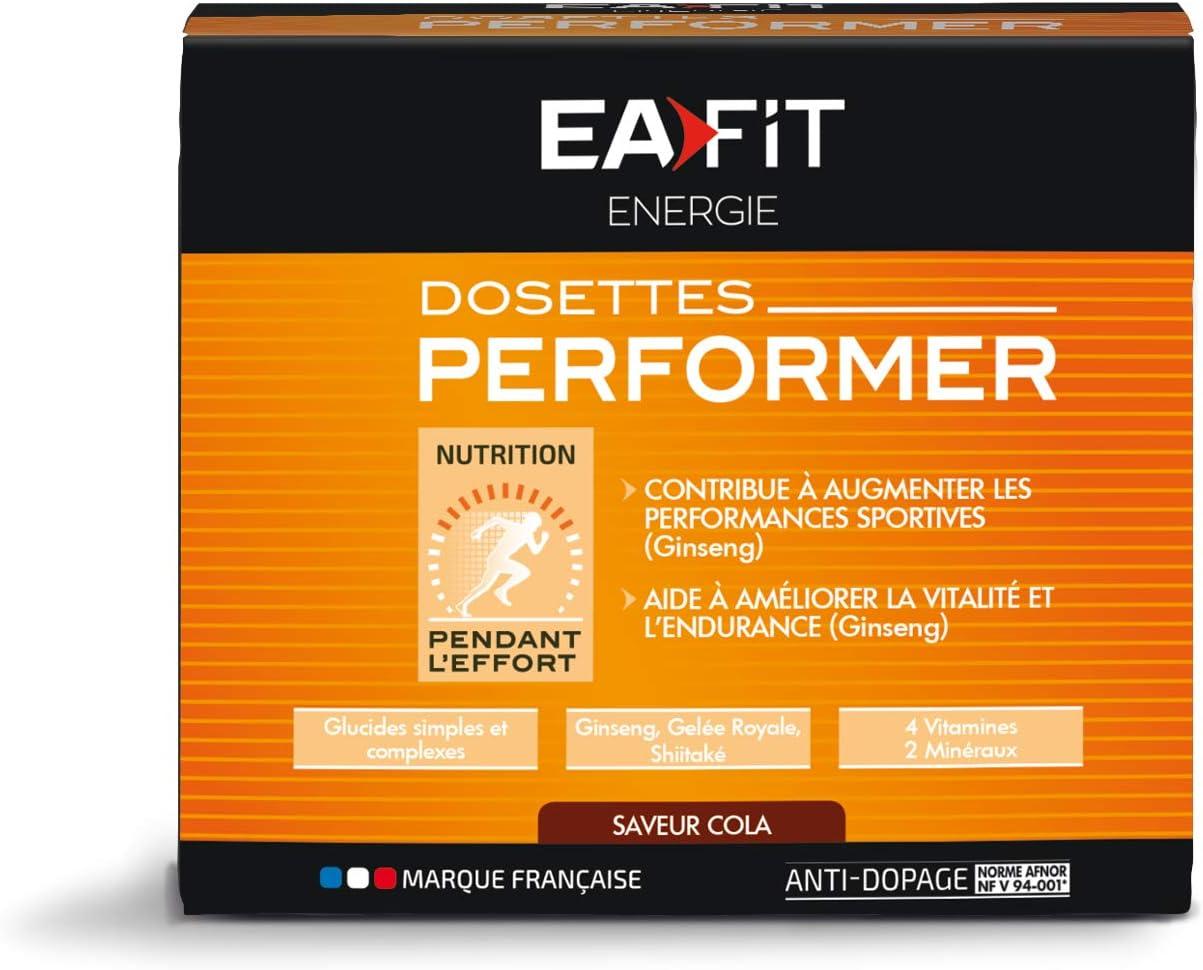 EAFIT Performer Orange gels Nutritifs etui 10 Dosettes