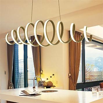 WQRTT® Kronleuchter Moderne LED Acryl Spirale Deckenleuchte Kronleuchter  Für Schlafzimmer Restaurant , White Light ,