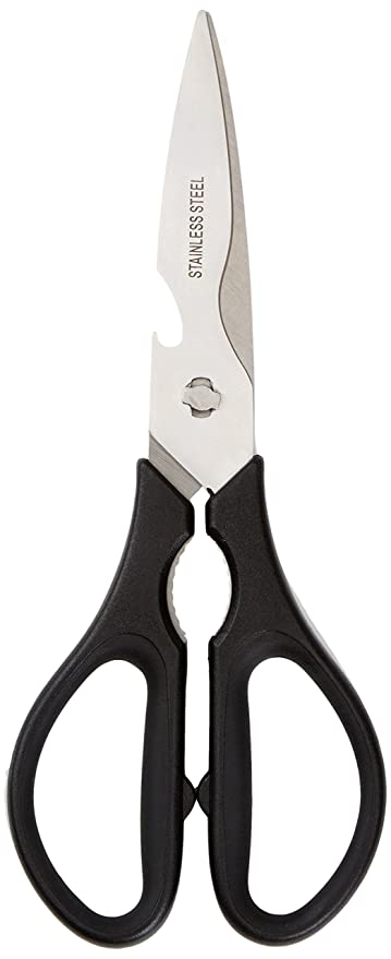 AmazonBasics Multifunction Detachable Kitchen Shears/Scissors