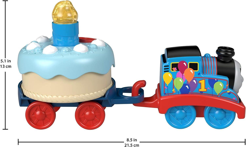 Musical Push-Along Toy Train Thomas /& Friends Fisher-Price Birthday Wish Thomas