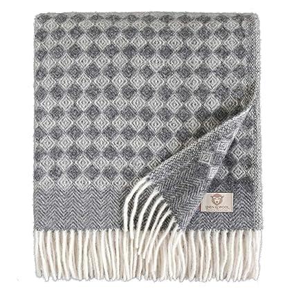 Linen & Cotton Manta para Sofa/Mantas de Cama de Lujo Paris ...