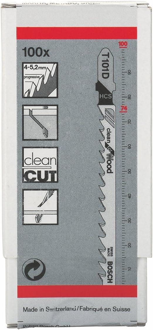 Stichsägeblatt a 25 Stück T 101 D Bosch