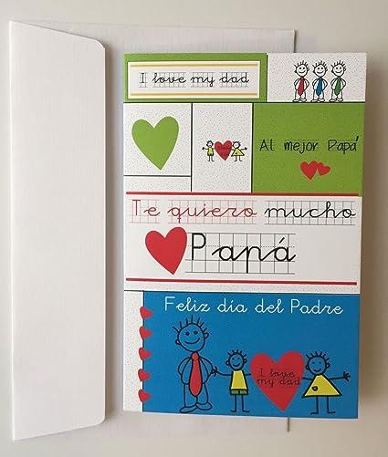 Tarjeta de felicitación: Día del padre *** Diseño e ...