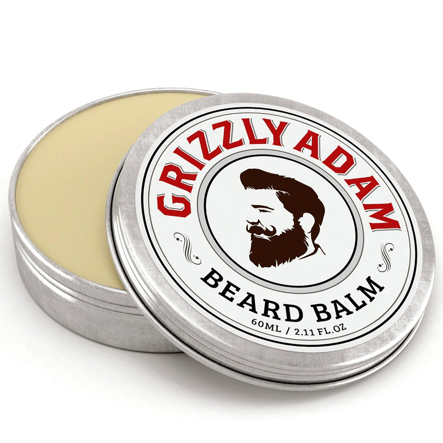 Amazon GRIZZLY ADAM Beard Balm For Men Natural Leave In