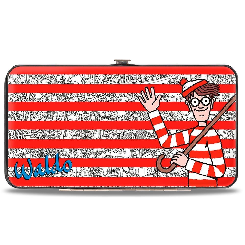 Buckle-Down Hinge Wallet - Where's Waldo? HW-WAC