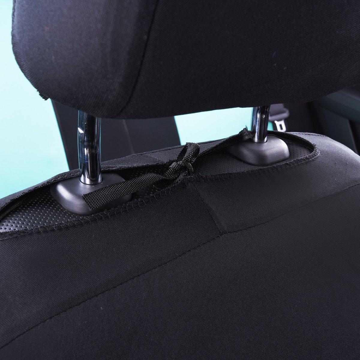 11 Pezzi Set Completo di Fodere per Seggiolino Auto CAR PASS Coprisedili Universali per Auto Protezioni per la Parte Anteriore e Posteriore del Sedile