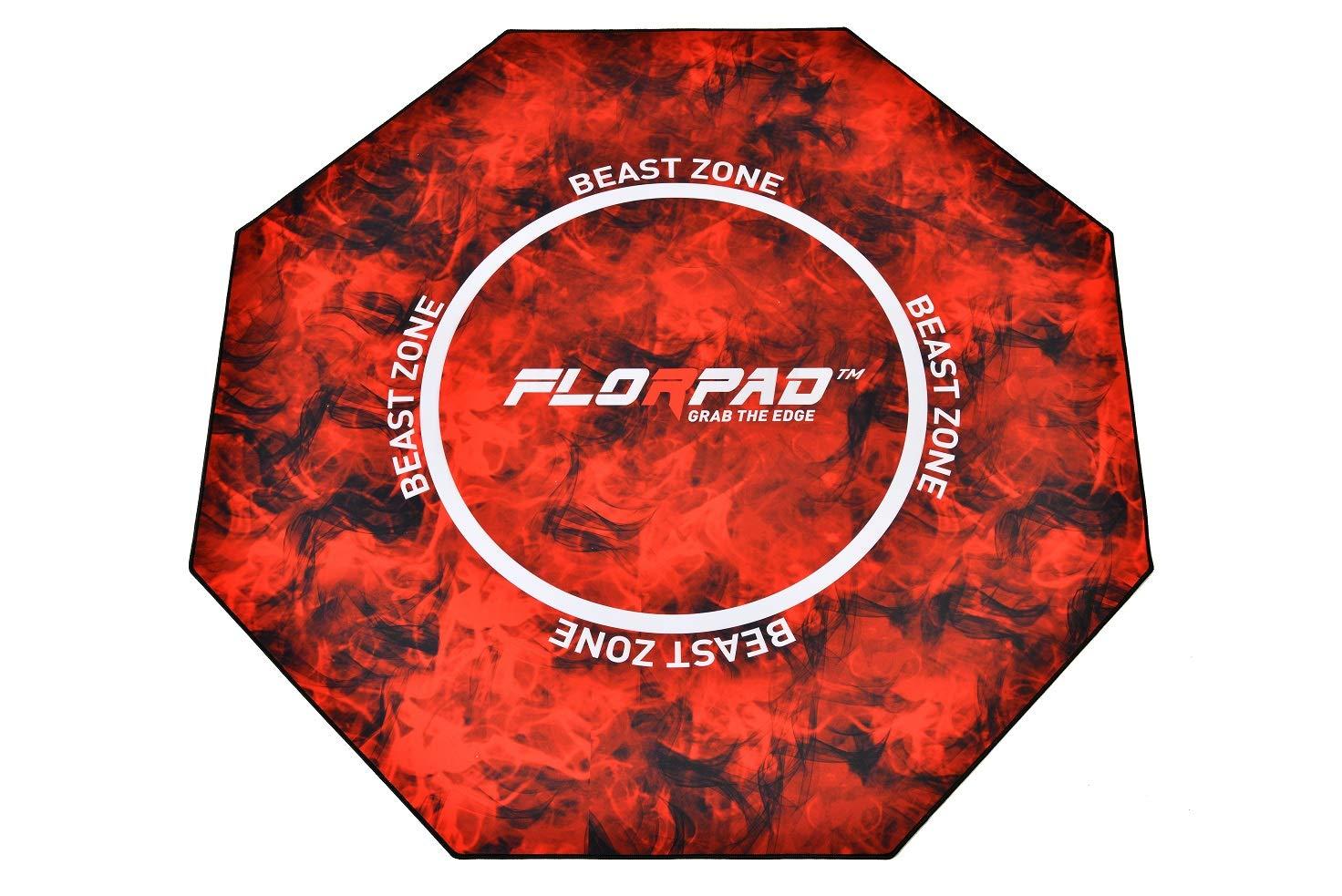 Florpad Gamer/Esport Estera de Protección del Suelo - Suave, 120x120cm, Equipo (Fnatic): Amazon.es: Hogar