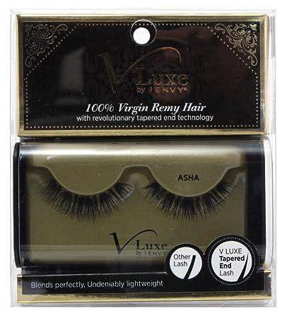 46531caaffd Amazon.com : V Luxe 100% Virgin Remy Hair Eyelashes Asha (3 Pack) : Beauty