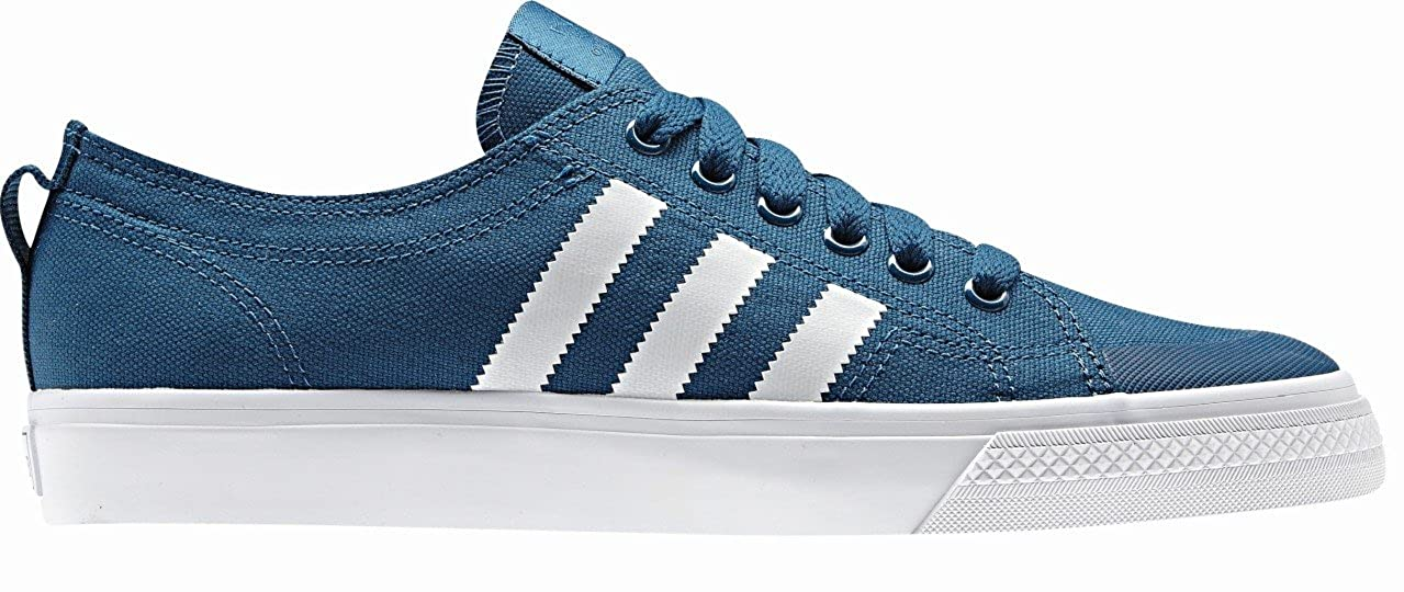 e1bd4cd380a adidas Nizza Lo Classic 78 Mens Trainer Blue White Size 12  Amazon.co.uk   Shoes   Bags