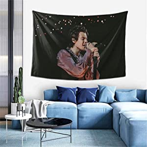 Harry-Styles Tapestry Wall Hanging Soft Tapestries One Direc-Tion Home Decorations For Livingroom Bedroom Dorm Decor 60x40inch