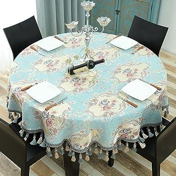 Küchenwäsche Europäische Runde Tischdecken Tischdecke Tuch Haushalt