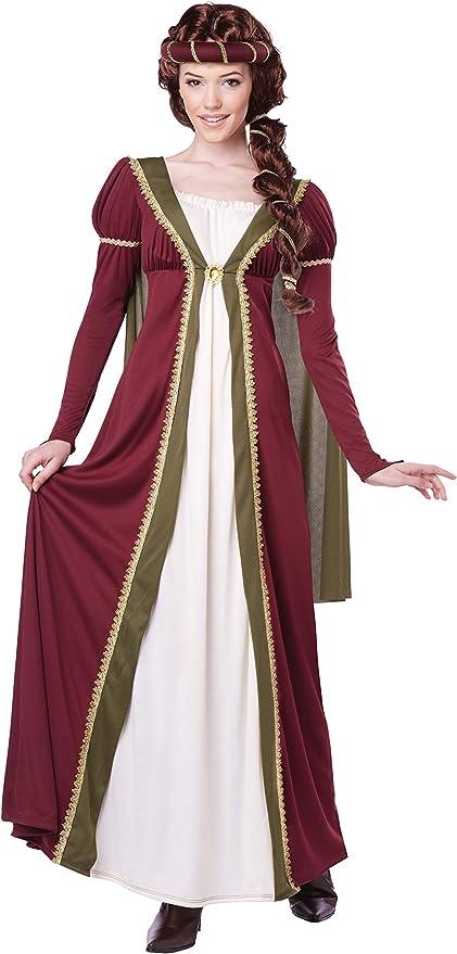 Disfraz medieval mujer XL: Amazon.es: Juguetes y juegos