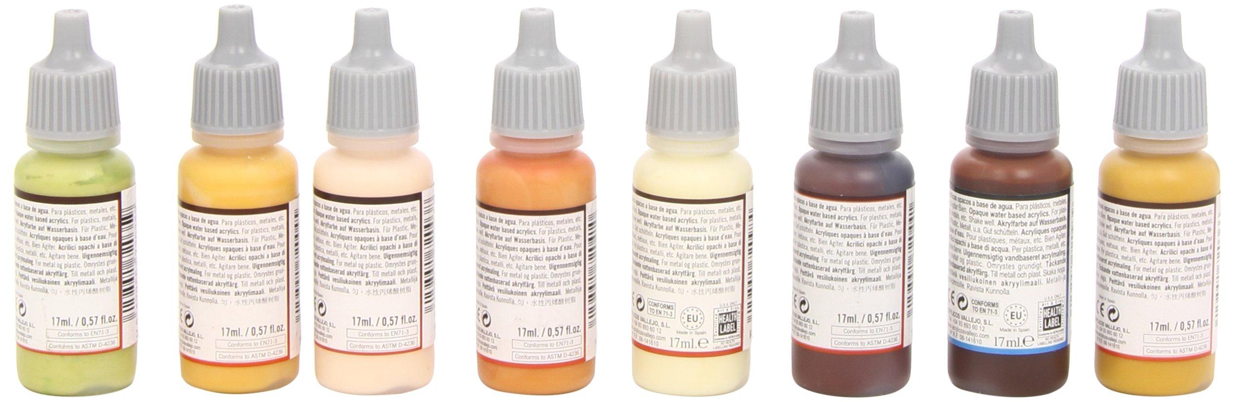 Vallejo Skin Tones Paint Set (8 Color) Paint by Vallejo (Image #2)