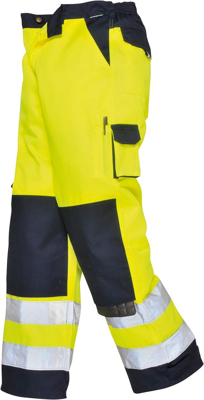 Portwest RT48 Orange ou Jaune Hi-Vis Jogging Work Pantalon//Pantalon Taille S-XXL