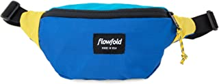 product image for Flowfold Rebel Fanny Pack Minimalist Waist Pack, Small Fanny Pack (Blue)