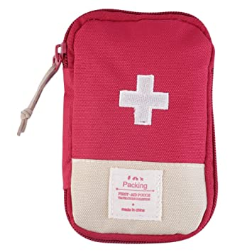 First Aid Bag,Empty First Aid Pouch,Mini Portable Medical Bag for Outdoor Camping