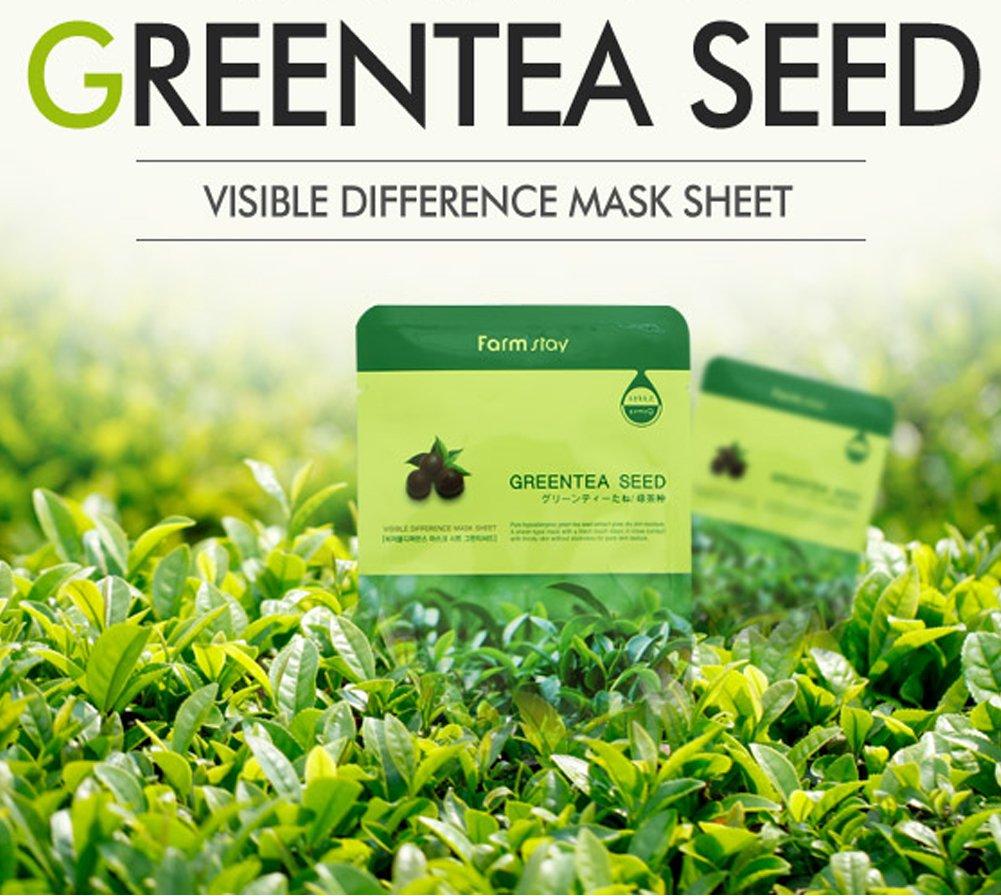 Картинки по запросу farmstay visible difference mask sheet greentea seed