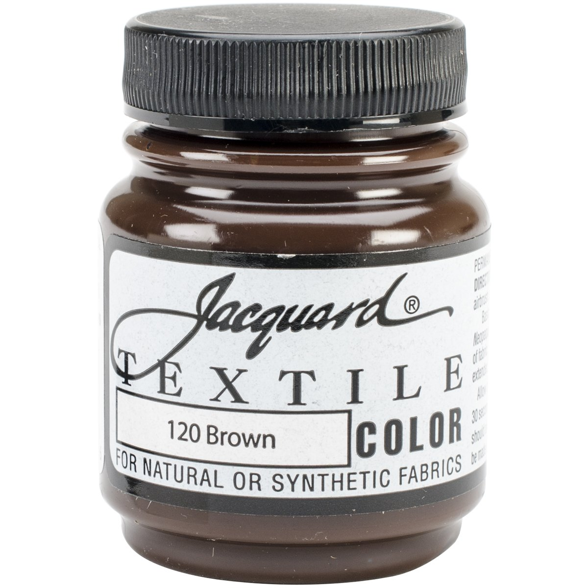 Jacquard Products Brown -Textile Color Paint, Acrylic, Multicolour TEXTILE-1120