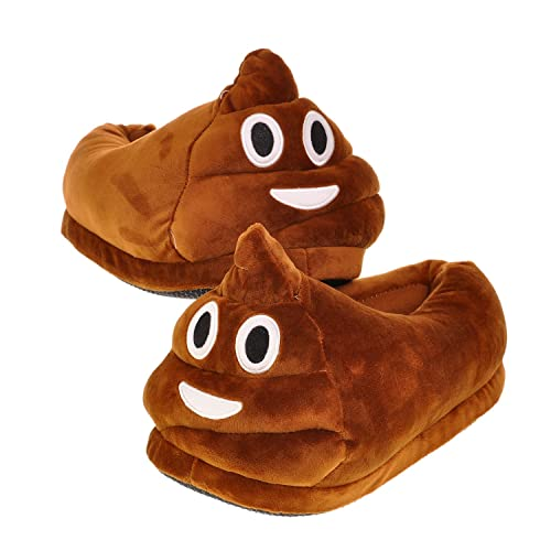 62ad0a1d16a Best of Source Emoj Poo Slippers for Women Size 8-10 Indoor Winter Shoes  Warm Cute Teens Slippers Womens Plush House Shoes