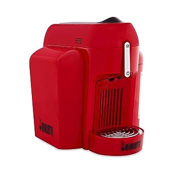 Bialetti Mini - Máquina de café con sistema cerrado rojo: Amazon.es: Hogar
