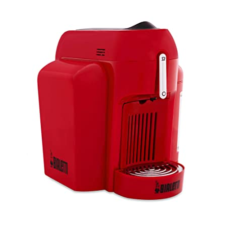 Bialetti Mini - Máquina de café con sistema cerrado rojo: Amazon ...