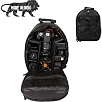 Copperzeit Professional DSLR/SLR Camera Bag/Camera Lens Shoulder Backpack Case (Black)