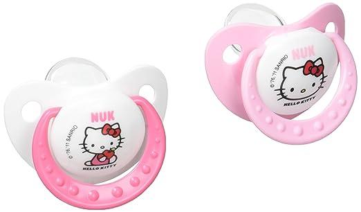 Nuk T2 Hello Kitty Schnuller, 2 Stück: Amazon.de: Baby