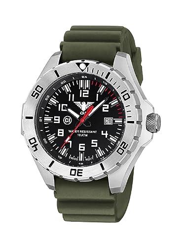 KHS Tactical reloj hombre Landleader Steel KHS.LANS.DO: Amazon.es: Relojes