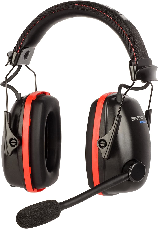 Honeywell Sync Wireless Earmuff with Bluetooth 4.1 (RWS-53016)