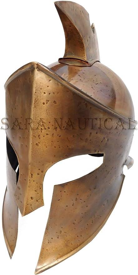 Sara Nautical Spartan Romano centurión Medieval Armor Casco ...