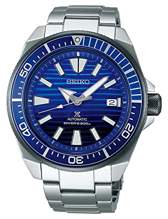 f5d83bc2d14 Image Unavailable. Image not available for. Color  Seiko Prospex SRPC93 SAVE  THE OCCEAN Samurai Diving Mens Watch