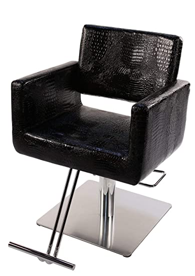 Magnificent Amazon Com Styling Chair Black Crocodile Beauty Andrewgaddart Wooden Chair Designs For Living Room Andrewgaddartcom