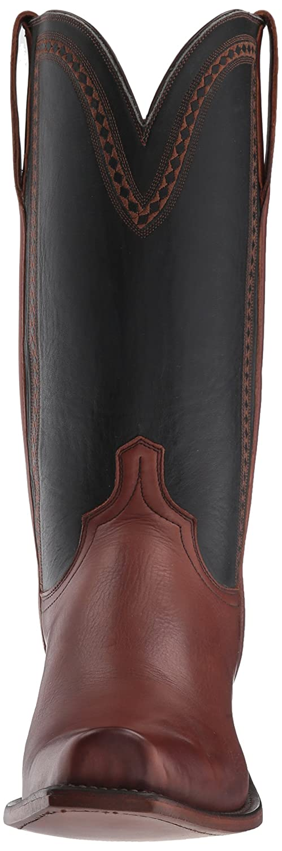 Lucchese Bootmaker Mens Sutton Western Boot 12 D US Tan//Black