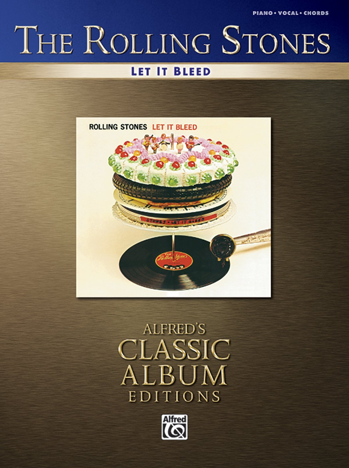 Let it bleed pianovocalchords alfreds classic album editions let it bleed pianovocalchords alfreds classic album editions by rolling stones 1 nov 2006 paperback amazon books hexwebz Choice Image