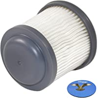 HQRP Washable Filter for Black & Decker PV1810-XE, PV1810XE, PV1810 XE, PV 1810-XE, PV1820L-XE, PD 1820LF-XE, PD1820L-XE, PV1420L + HQRP Coaster