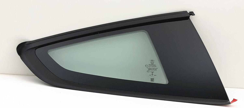 NAGD Fits 2007-2014 Ford Edge 4 Door Utility Driver Side Left Front Door Glass OEM W//Logo